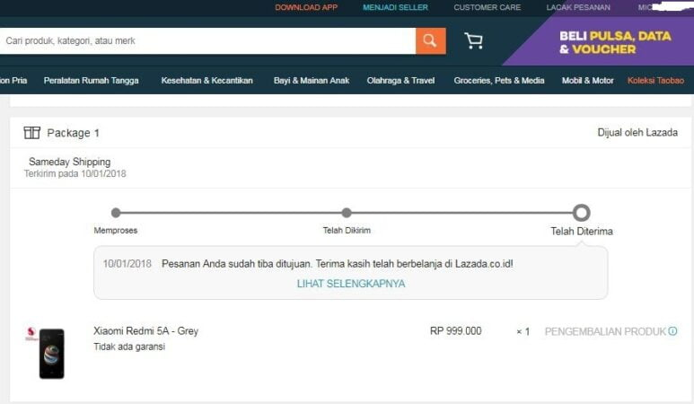 Tips Trik Flash Sale di Lazada