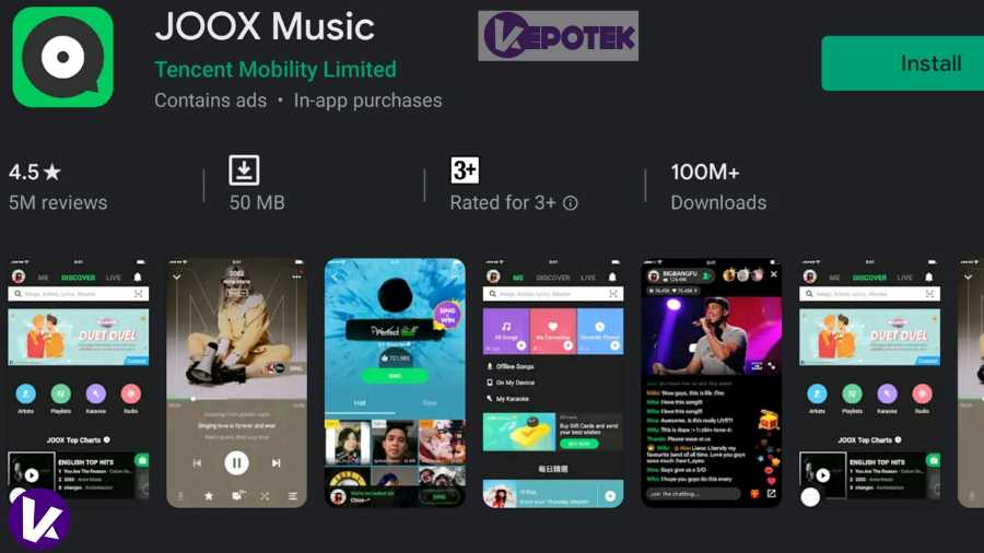 Aplikasi Android Download Lagu Gratis